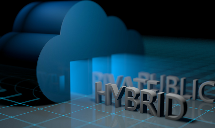 hybrid private public