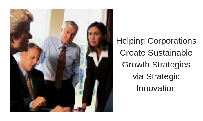 Helping Corporations Create Sustainable Growth Strategies via Strategic Innovation